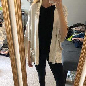 Shirt sleeve cardigan